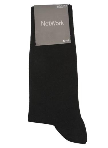 NetWork Çorap Siyah
